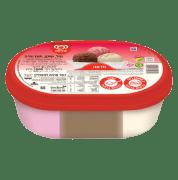 גלידת וניל שוקו תות
