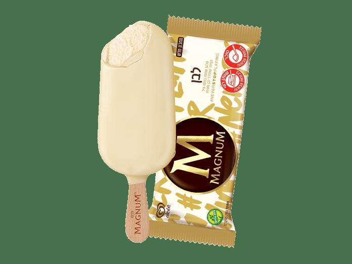 מגנום שוקולד לבן