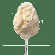 גלידת שטראוס שמנת בטעם וניל